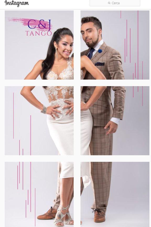 Clarisa Aragon and Jonathan Saavedra dance
