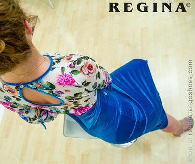 woman tango dress