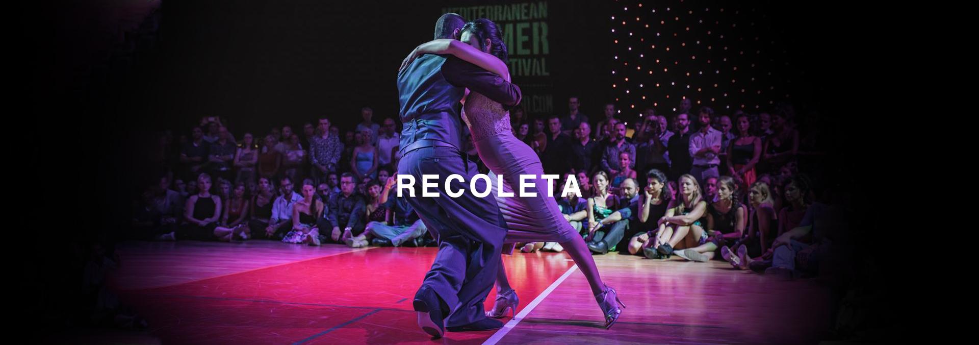Recoleta Dancers banner